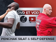 DVD et VOD Penchak Silat et Self-defense AFR